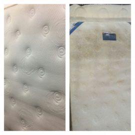 ניקוי מזרון לפני ואחרי