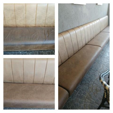 ניקוי ספות בבית קפה ביגה בקריות