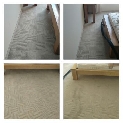 ניקוי שטיחים מקיר לקיר במלון